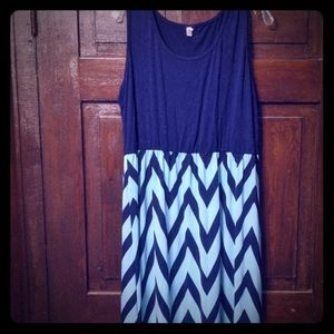 Maxi sleeveless dress size 18/20